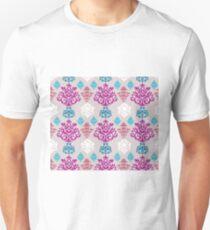 Multicoloured Damask Unisex T-Shirt