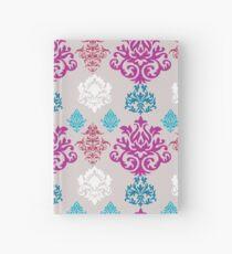 Multicoloured Damask Hardcover Journal