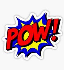 POW! Comic Book Style! Sticker