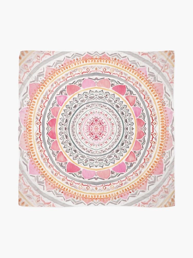 Alternate view of Pastel Bohemian Mandala Scarf