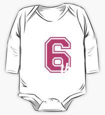 Team 6th Grade Back To School Tshirt Team Sixth Grade Tee One Piece - Long Sleeve