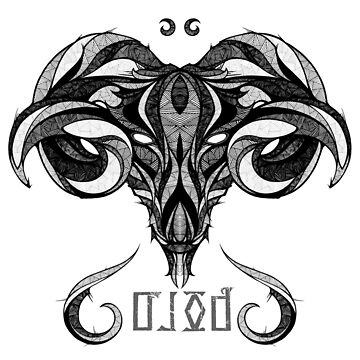 Aries Zodiac Sign ( BOLD ) by mcrum