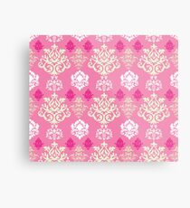 Multicoloured Damask Two Metal Print