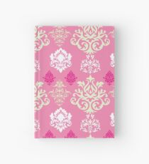 Multicoloured Damask Two Hardcover Journal
