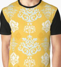 Multicoloured Damask Four Graphic T-Shirt