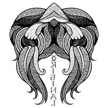 Aquarius Zodiac Sign ( ORIGINAL ) by mcrum