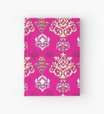 Multicoloured Damask Five Hardcover Journal
