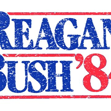 Reagan Bush 84 by inkstyl