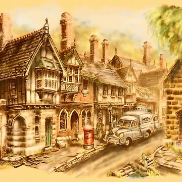 Weymyss Village, The High Street by Rasendyll