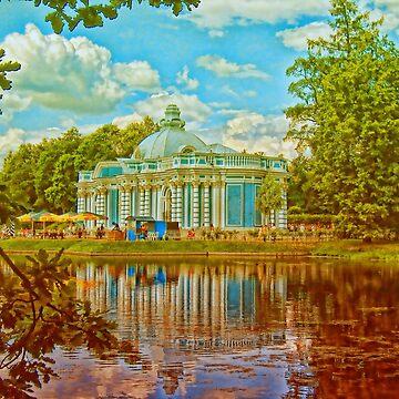 At the Park of Ekaterininsky Palace. Tsarskoe Selo. Russia by vadim19