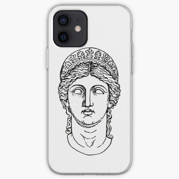 Greek Goddess Design iPhone Soft Case