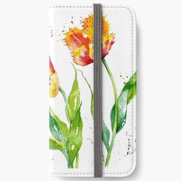 Dancing Tulips iPhone Wallet