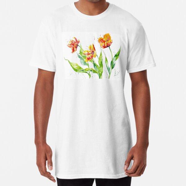 Dancing Tulips Long T-Shirt