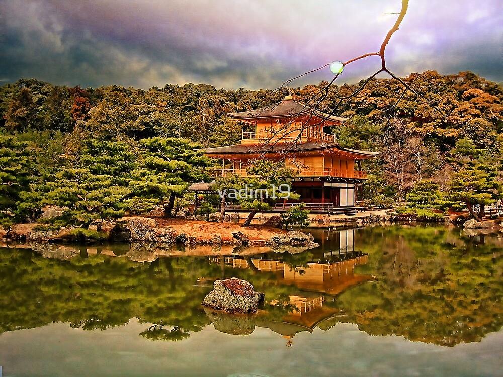 Kinkaku-ji, Kyoto, Japan. by vadim19