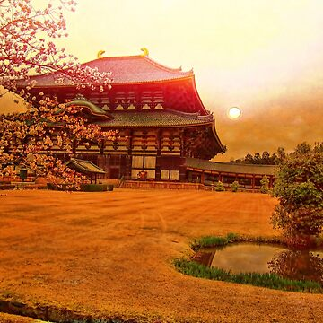Tōdai-ji. Nara, Japan. by vadim19
