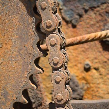 Rusty Gears by MarthaMedford