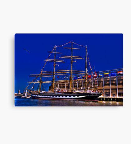 Sail Boston - Kruzenshtern  Canvas Print