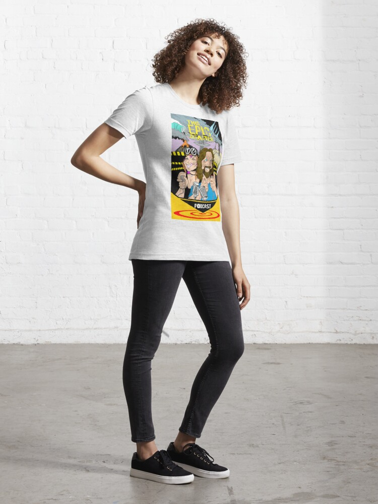 Alternate view of This Epic Disaster - Jay Hilgenfeld Illustration Essential T-Shirt