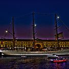 Sail Boston - Sagres by LudaNayvelt