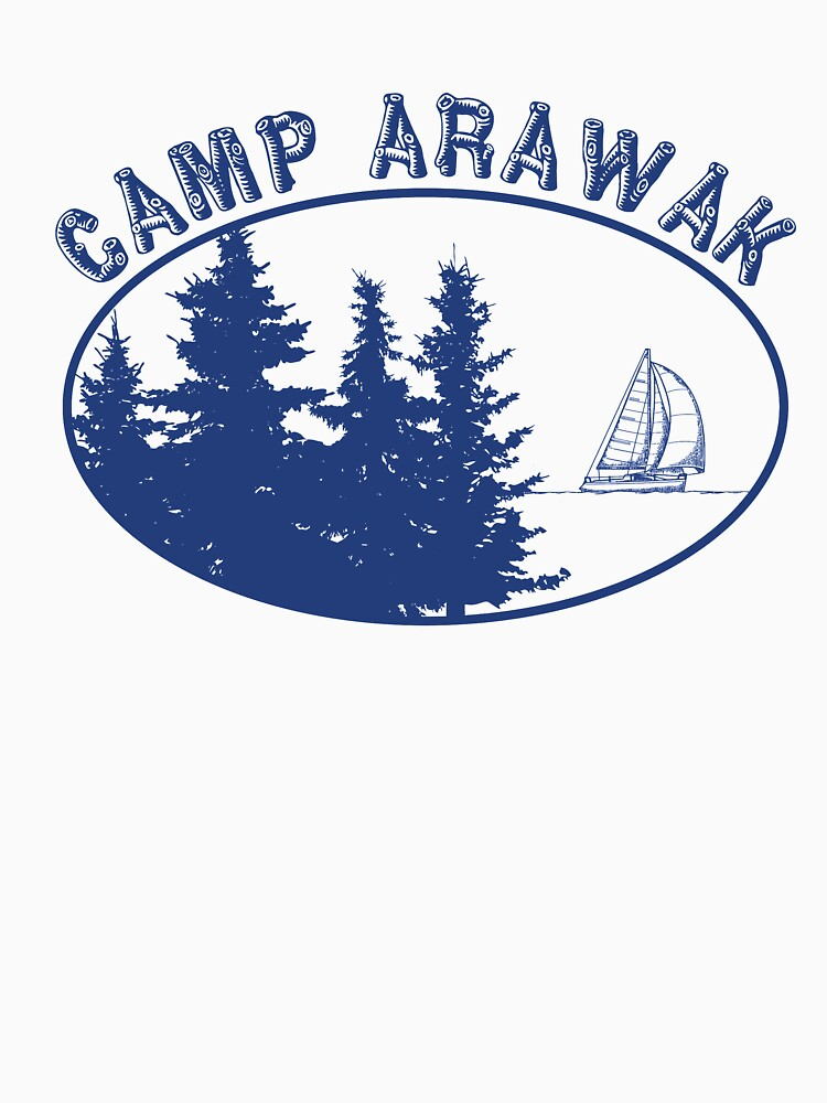 8aed3e93857 ... T-Shirt. Camp Arawak Gift Retro Summer Camp by jtrenshaw