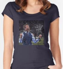 Football's Coming Home, Gareth Women's Fitted Scoop T-Shirt