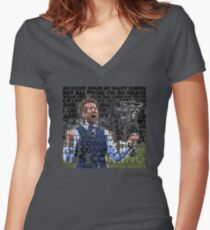 Football's Coming Home, Gareth Fitted V-Neck T-Shirt