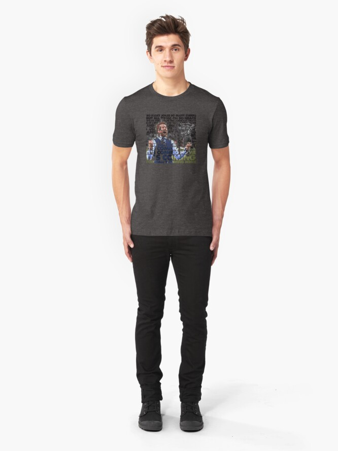 Alternate view of Football's Coming Home, Gareth Slim Fit T-Shirt