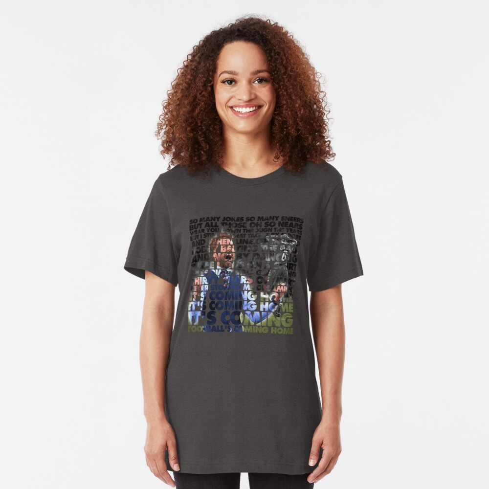 Football's Coming Home, Gareth Slim Fit T-Shirt