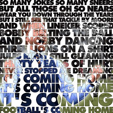 Football's Coming Home, Gareth by everyplate