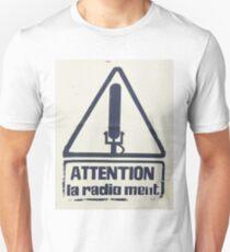 Fake news censorship Unisex T-Shirt