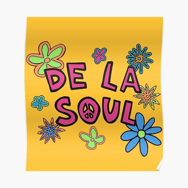 De La Soul Pattern Poster