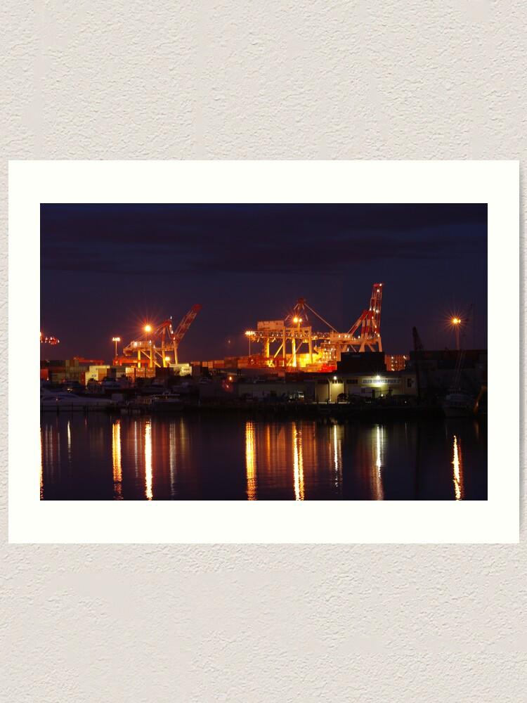 Alternate view of North Quay Art Print