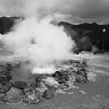 Hot spring by gavila