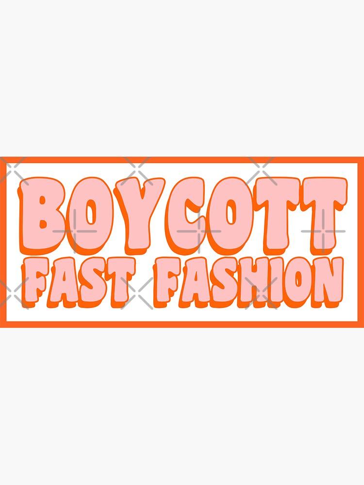 Boicotear la moda rápida de kassiopeiia