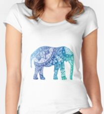Blue Elephant Women's Fitted Scoop T-Shirt