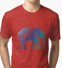 Blue Elephant Tri-blend T-Shirt