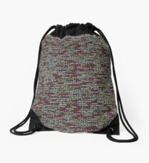 Developer's Terminal Pattern Drawstring Bag