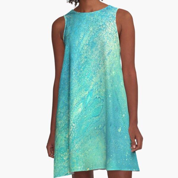 Shimmery A-Line Dress