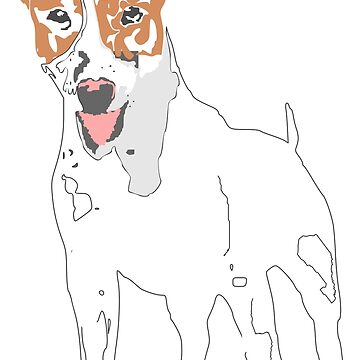 Jack russell terrier by ZnDigitalPrints
