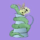 Snake in a jug by Graham Cooling