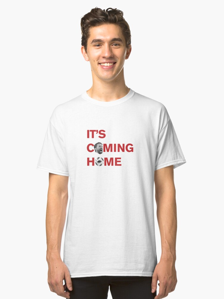 FOOTBALL IS COMING HOME Classic T-Shirt Front