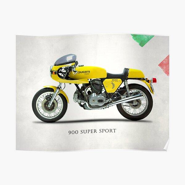 Le 900 Super Sport 1977 Poster