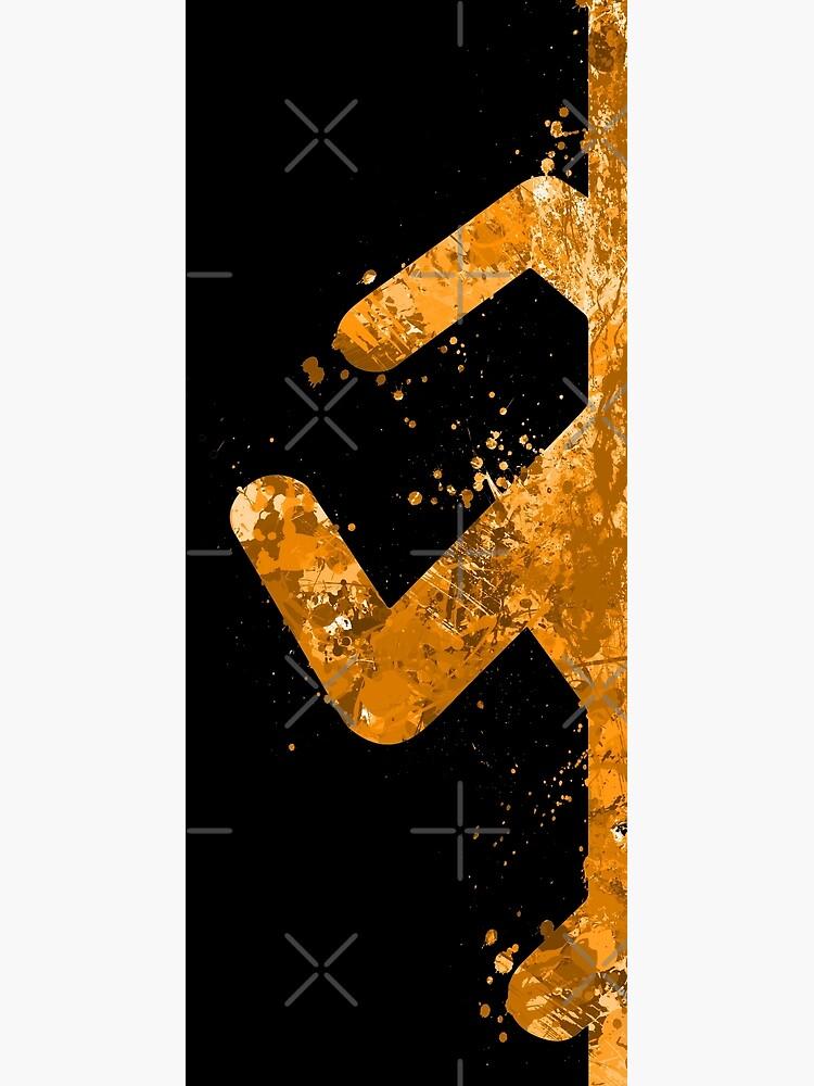 Portal - Orange Half by jsumm52