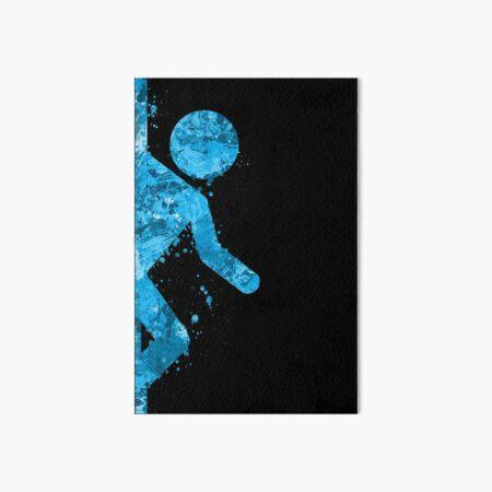 Portal - Blue half Art Board Print