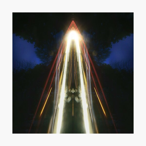 Light Fall - Reflected Composition Photographic Print