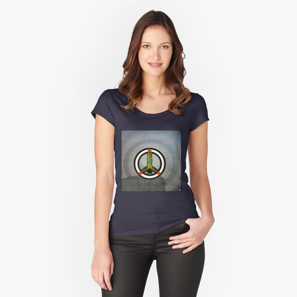 SOS Women's Fitted Scoop T-Shirt Front