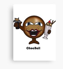 Choc Ball Canvas Print