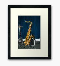 The Sax Framed Print