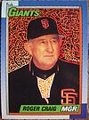 415 - Roger Craig by Foob's Baseball Cards
