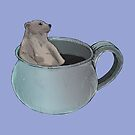 Bear in a mug by Graham Cooling
